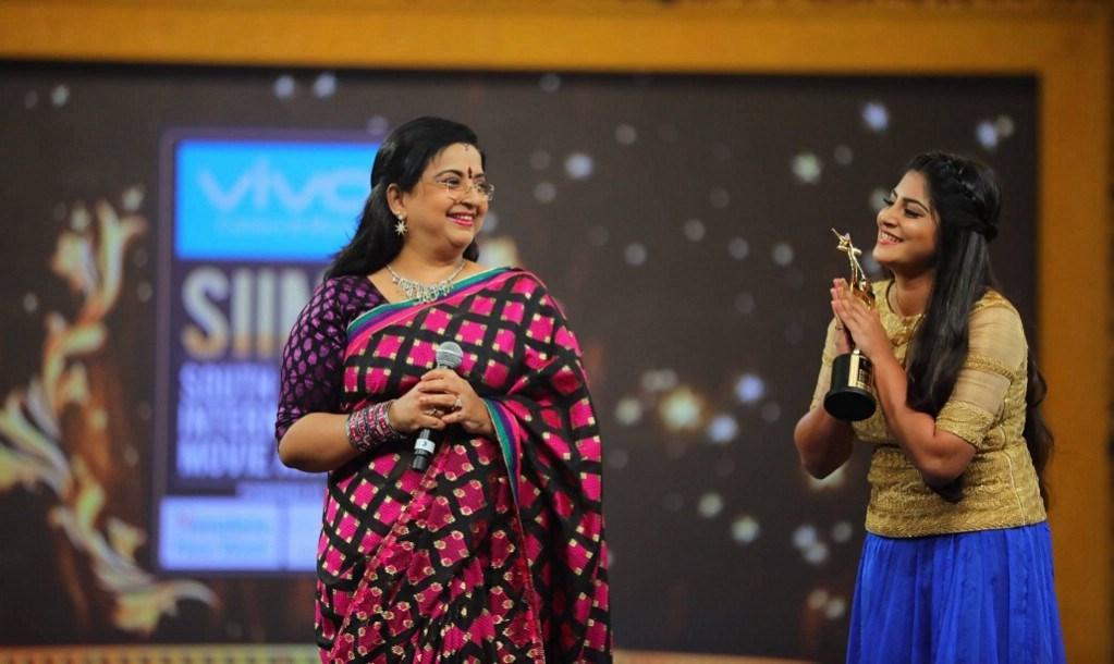 Actress Manjima Mohan Photos At SIIMA Awards 2017