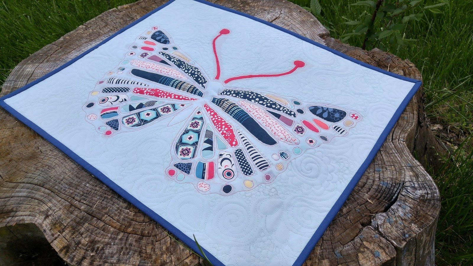 Slice of pi quilts ger s quilt festival entry butterfly