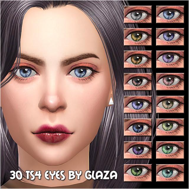 30 ts4 eyes by glaza