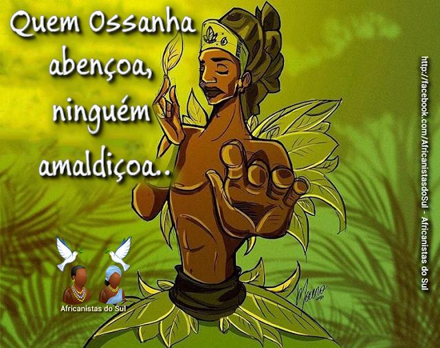 Batuque do Rio Grande Sul Orixás Ossanha Preces para os Orixás Religião Afro Súplicas para os Orixás  - Oração à Ossanha
