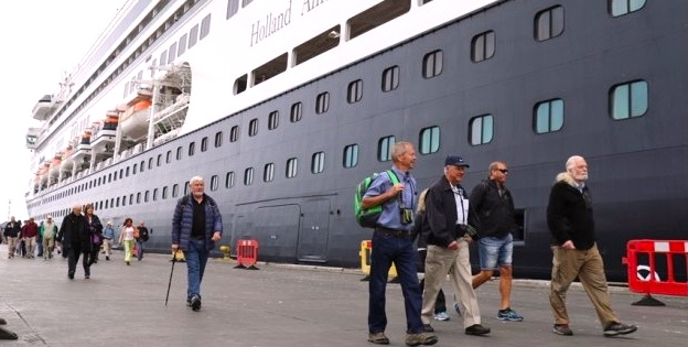 pasajeros de Zaandam en Coquimbo
