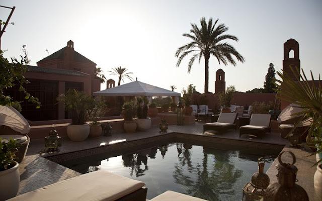 Royal Mansour, Marrakesh, Maroko.
