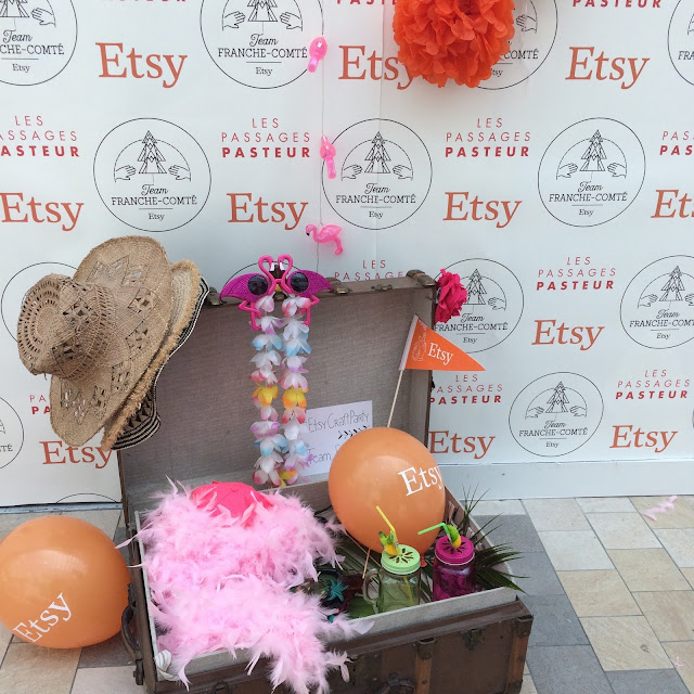 Etsy craft party, besançon, craft party 2016, etsy franche comté, créateurs franche-comté, passages pasteurs