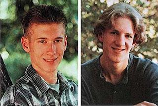 A gauche : Eric Harris, à droite : Dylan Klebold