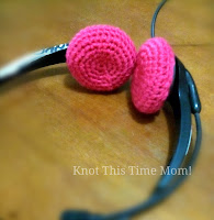 Crochet Headset Cover - Free Crochet Pattern
