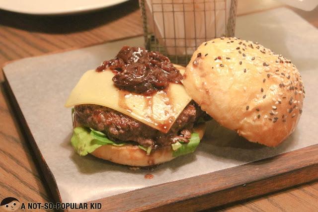 Wagyu Octoberfest Burger