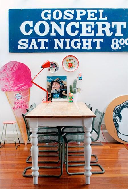 cozinha com decoracao kitsch