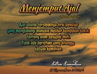 Kultum Ramadhan hari ke 11 menjemput ajal