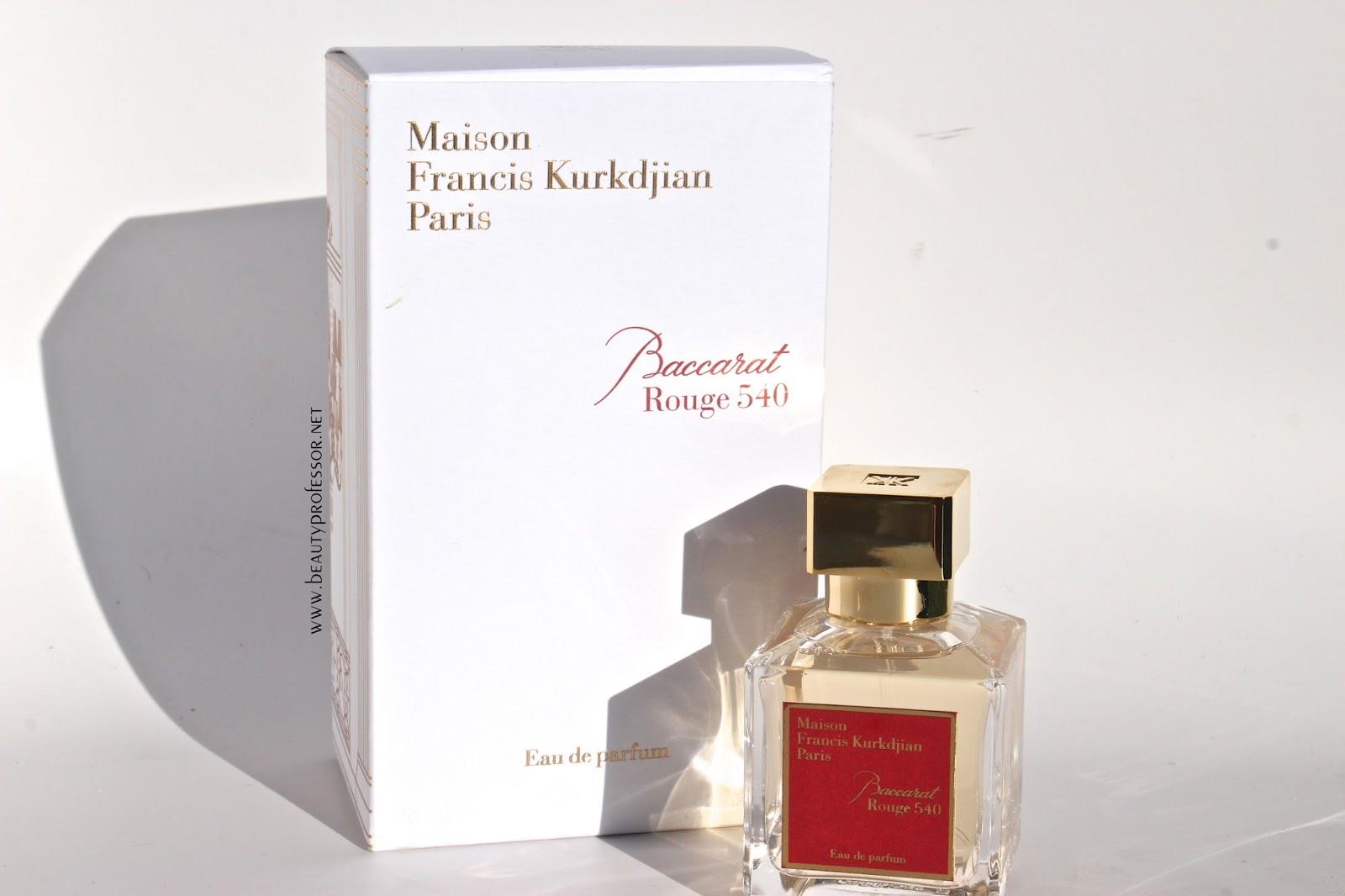 Beauty Professor Fragrance Focus Maison Francis Kurkdjian Baccarat