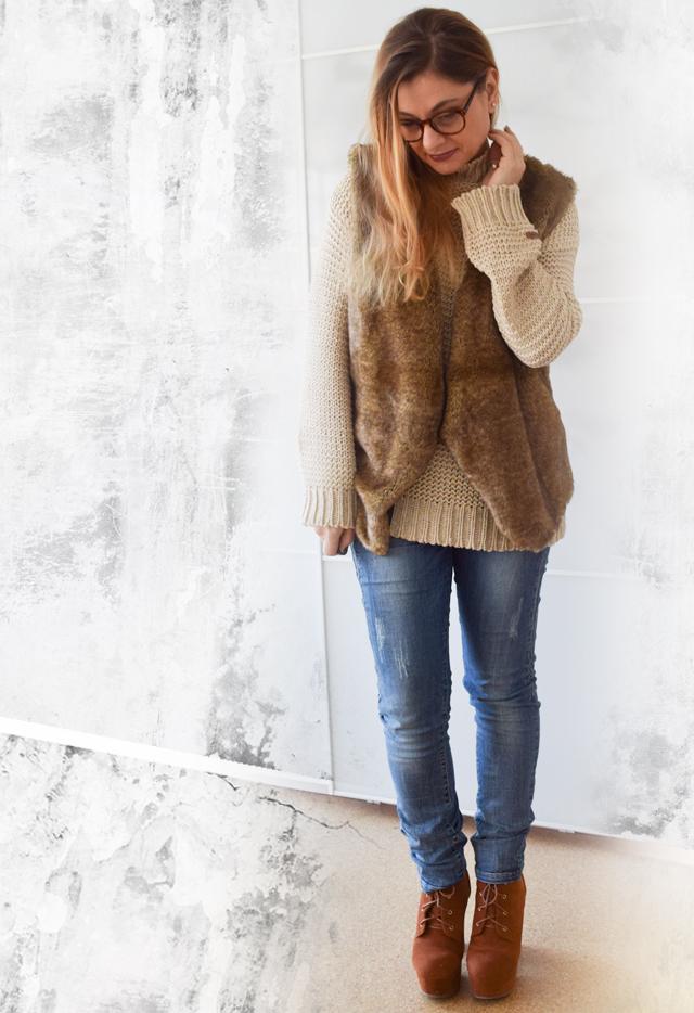 Fashionlook-Edelfabrik-Fellweste-Jeans