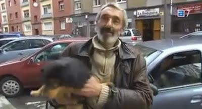 El último deseo de un enfermo terminal: encontrar familia para su perro