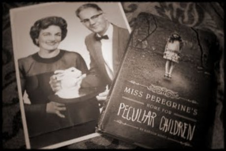 BOOK PHOTO: Miss Peregrine's Home for Peculiar Children
