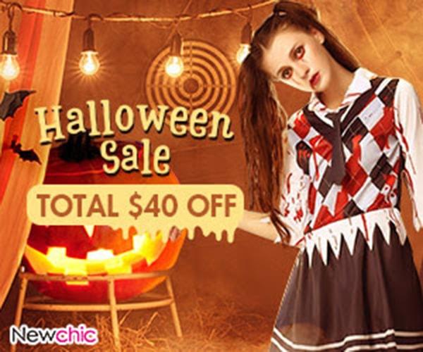 Halloween Sale: $29-$5, $49-$10, $99-$20