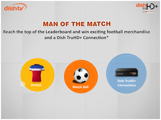 Win football Jerseys, Dish Tv's, Match Ball and more