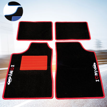 set de 4 tapis auto aldi avis sur les produits. Black Bedroom Furniture Sets. Home Design Ideas
