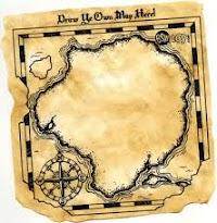 DIY How To Make Treasure Map Invitations