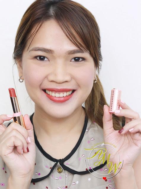 a photo of Etude House My Little Nut Dear My Enamel Lipstick in RD305