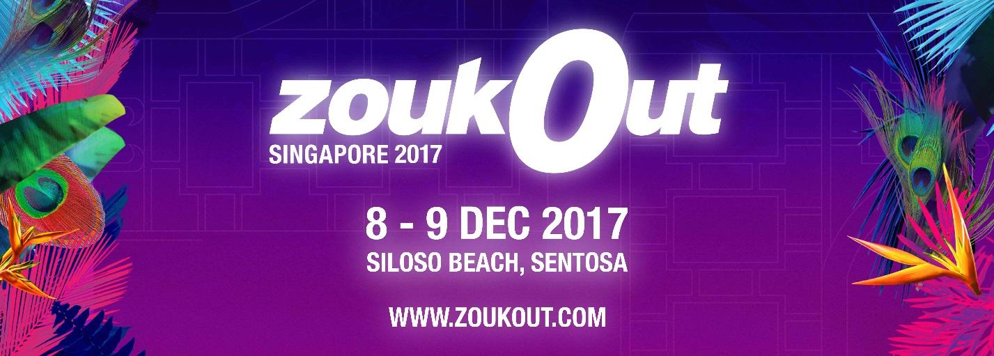 ZoukOut Singapore 2017 - A Dance Music Festival taking over by 88Rising with Keith Ape, Rich Chigga and More to Lineup