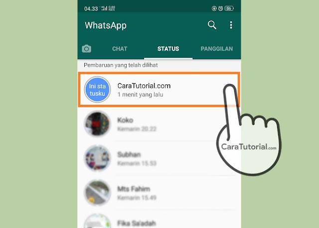 Cara Melihat Status WhatsApp Tanpa Diketahui