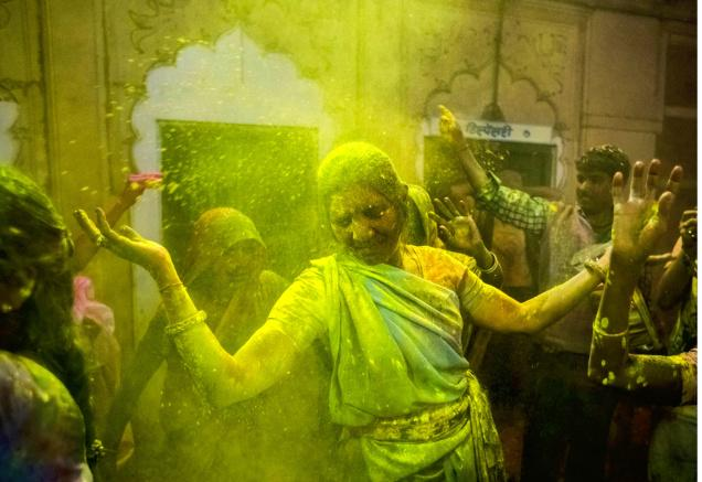 Widow's Holi, Vrindavan