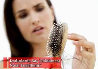Saçı Dökülmül Kadın Fotoğrafı
