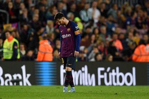 Messi đã 2 lần thất bại trước Lopez.