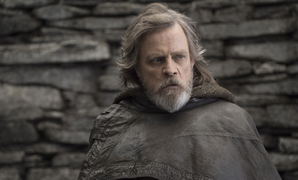 Mark Hamill returns as Luke Skywalker in STAR WARS: THE LAST JEDI (2017)