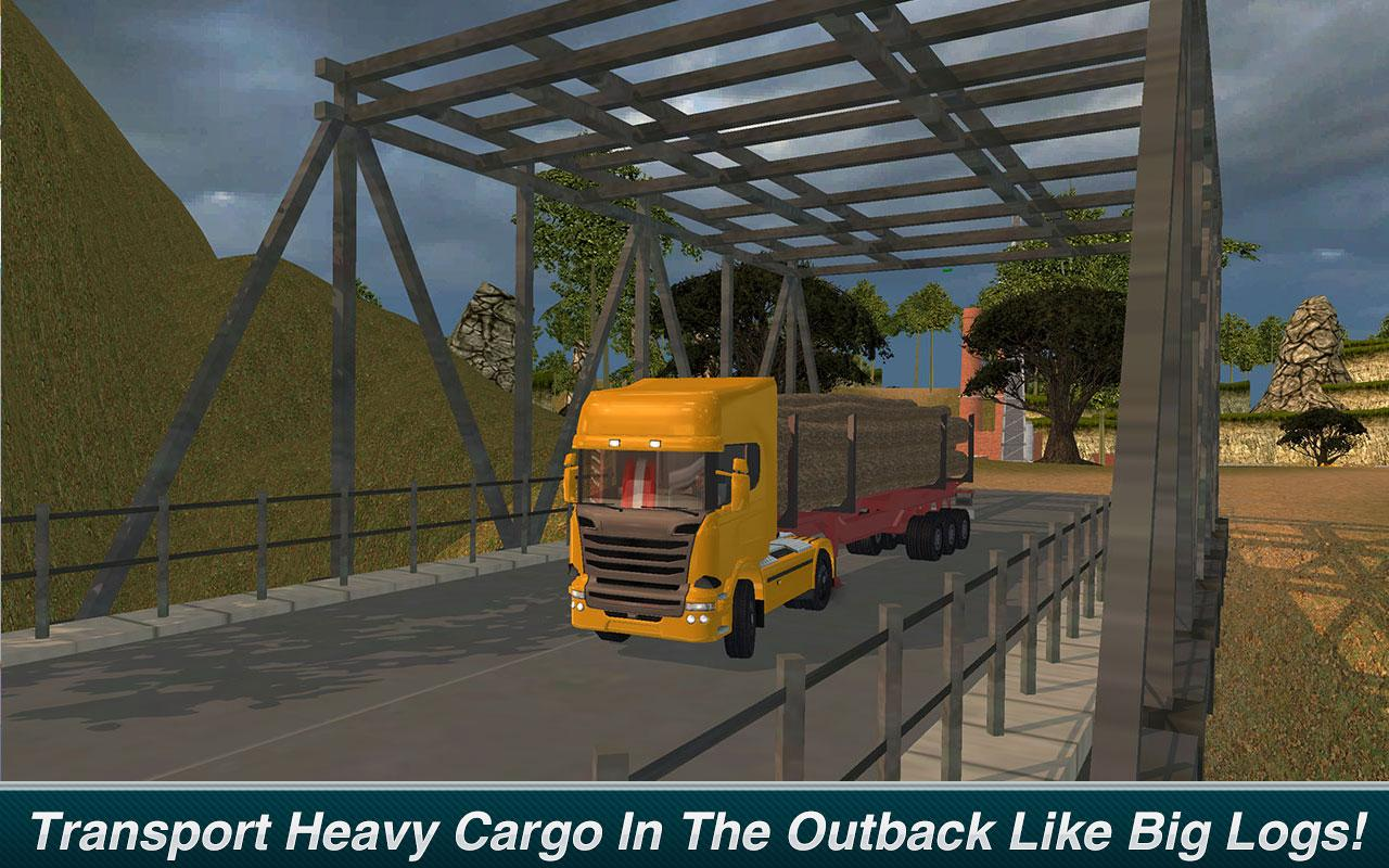 Offroad Truck Driver: Outback Hills MOD APK terbaru