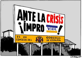 Viñeta de humor Consejo del gobierno por JR Mora