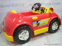 5 Mobil Mainan Aki Junior QJ1150AR Police Car