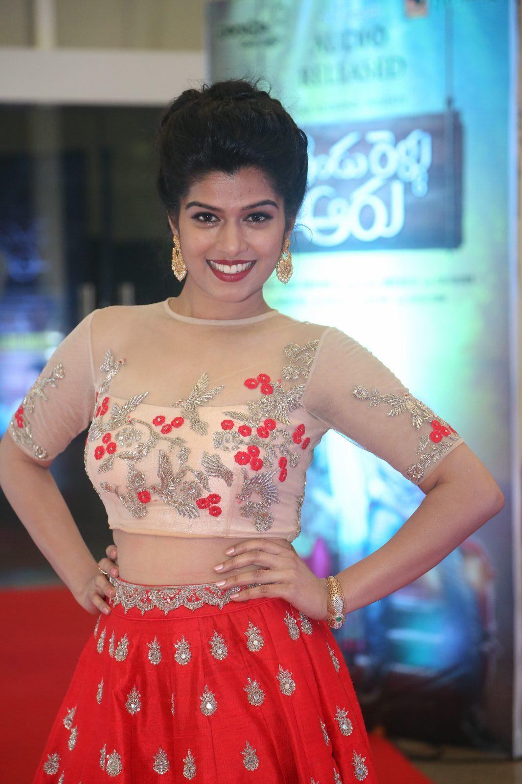 Mahima at Rendu Rellu Aaru Movie Audio Release Function Stills