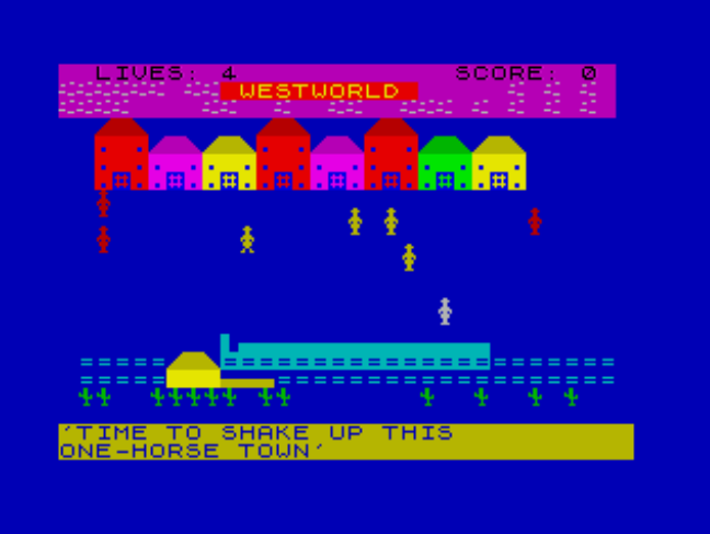 Indie Retro News: ZX Spectrum BASIC Jam - Game creation in Sinclair