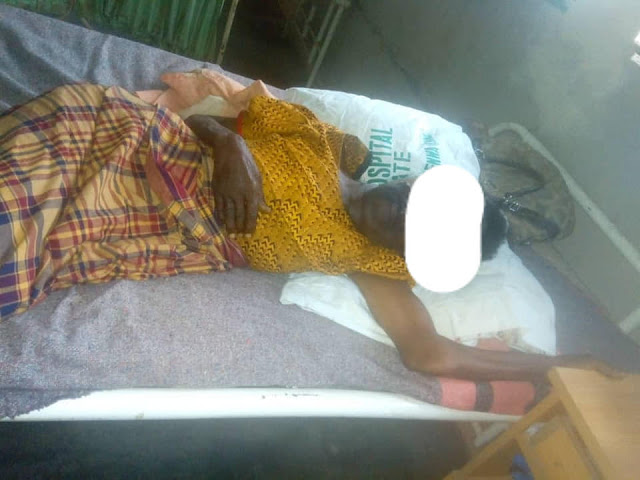 25-Year-Old Imo man raped his 70-Year-Old Aunty in her Shop(Photos)