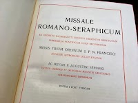 "The Splendor of the ""Romano-Seraphicum"" Missal  in the Holy Land"