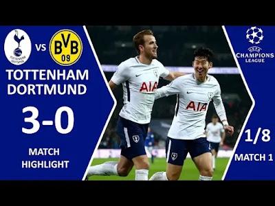 Tottenham vs Dortmund 3-0 Football Highlights and Goals 2019
