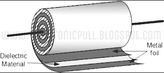 Axial lead type capacitor