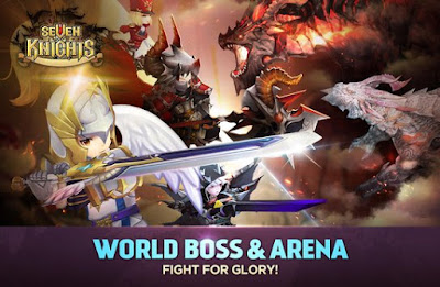 Download Game Seven Knights v2.7.10 Apk Free Android
