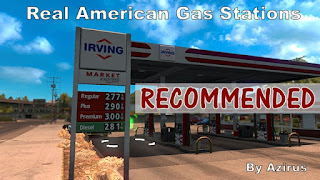 Real American Gas Stations