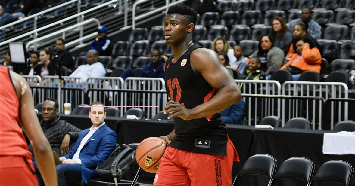 Zion Williamson Sets Duke Vertical Leap Record Carrying