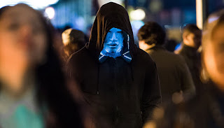 Pictures of jamie foxx as electro in the amazing spider-man 2