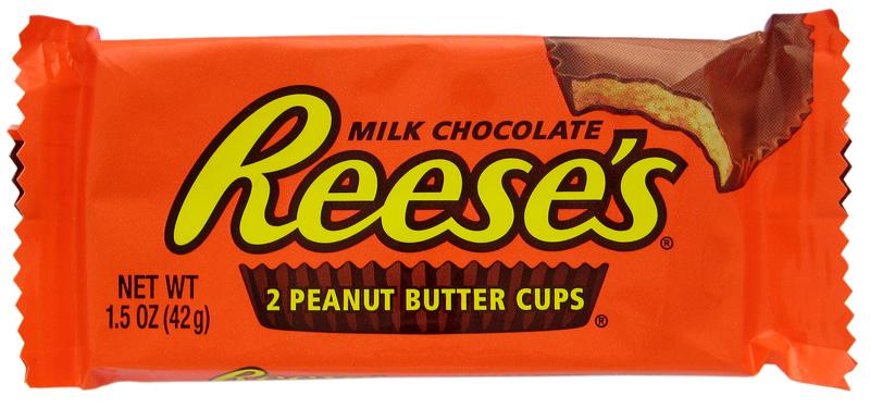 cabin talk: Reese's peanut butter cups