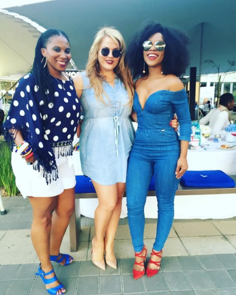 Mzansi Actress Pearl Thusi Modeling Topless And Looking