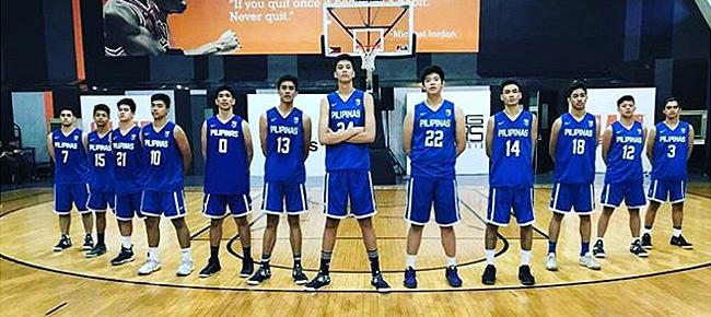Batang Gilas Final 12-man lineup to 2018 FIBA U16 Asian Championship