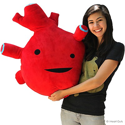 Corazón de Peluche Gigante