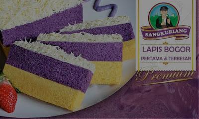 Kue Lapis Talas Sangkuriang Bogor
