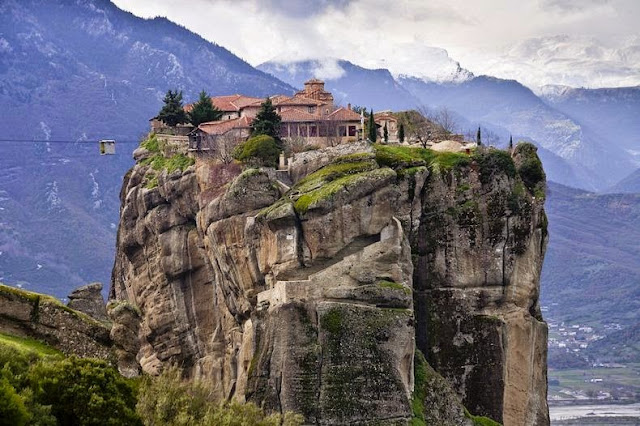 The World's Inaccessible Monasteries by Omar Cherif, One Lucky Soul