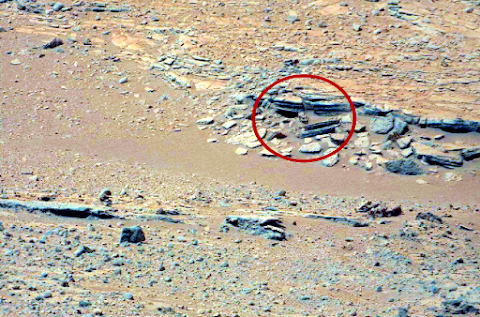 Ancient Greek Head Found On Mars?