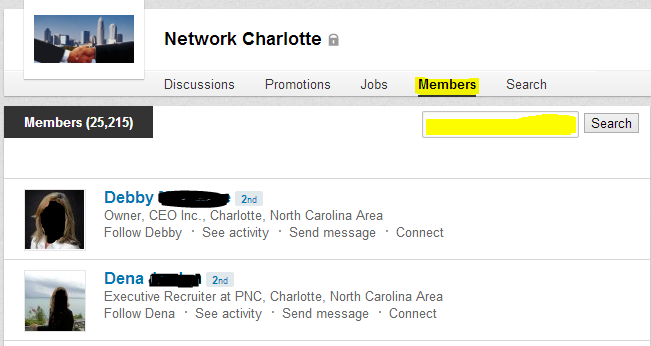 inviting LinkedIn group members to connect, LinkedIn, how to invite LinkedIn group members to connect,