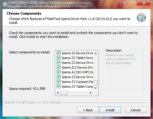 FlashTool Xperia Driver Pack 1.8 Full Version