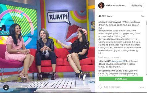 """Artist Nikita Mirzani Bikin ULAH lagi di SOSMED : Ia Berkata """"Gue Nggak Hobi Pake BH"""""""